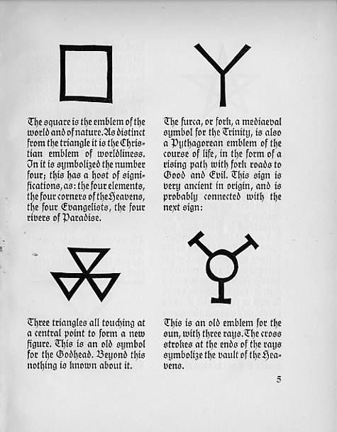 Zoso Symbol – Jimmy Page's Led Zeppelin symbol