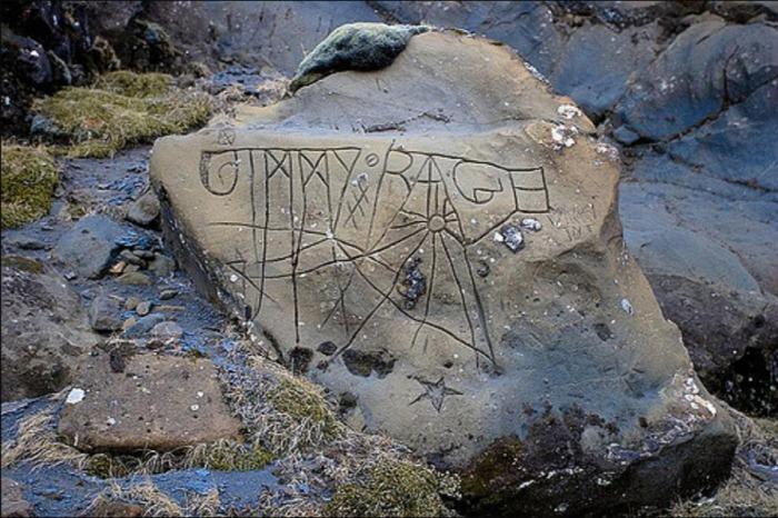 Page Rune stone